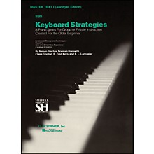 Music Sales Keyboard Strategies Vol 1 Pn Abridged Master By Stecher