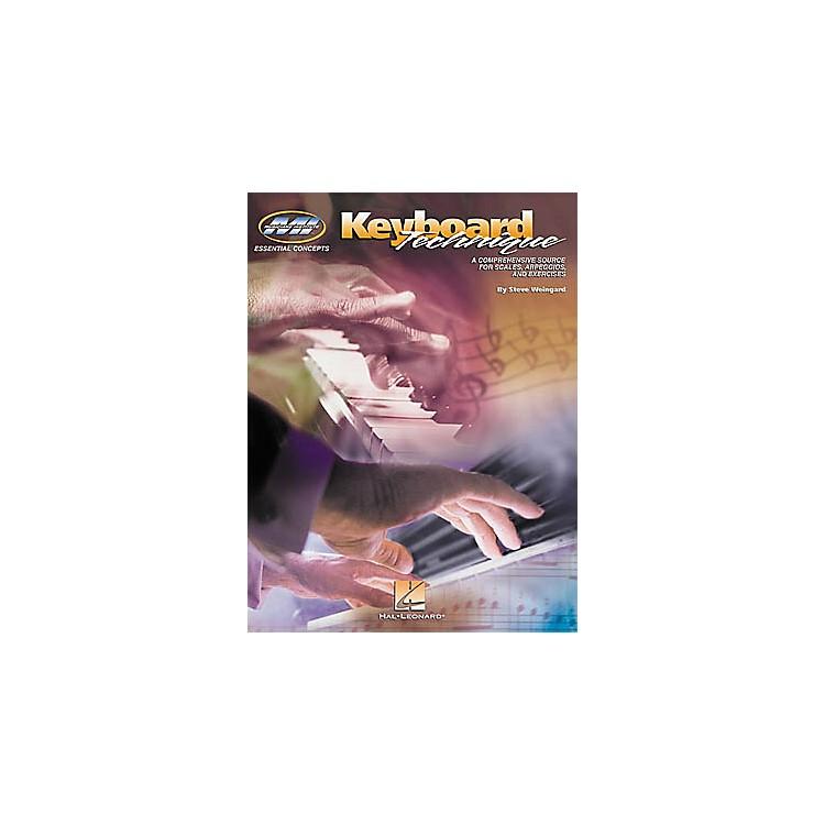 Hal LeonardKeyboard Technique Book