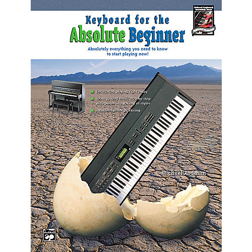 Alfred Keyboard for the Absolute Beginner (Book/CD)-thumbnail