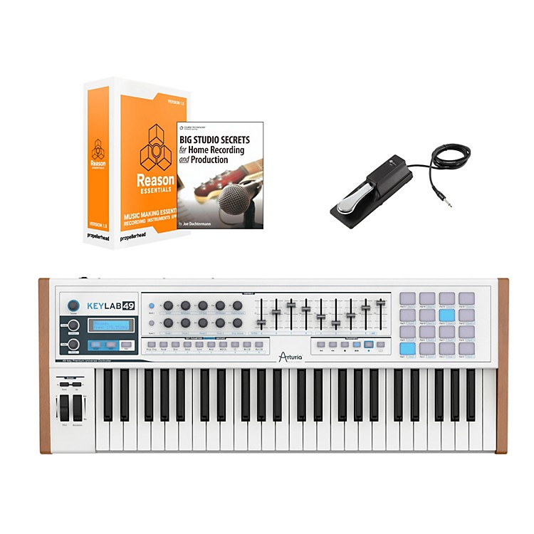 Arturia Keylab 49 Keyboard Controller Package 2