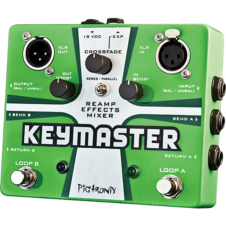 Pigtronix Keymaster Guitar Effects Loop