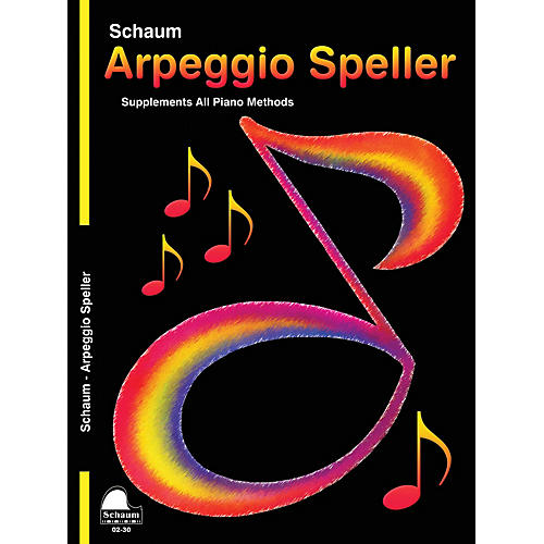 SCHAUM Keynote Arpeggio Speller Educational Piano Series Softcover-thumbnail