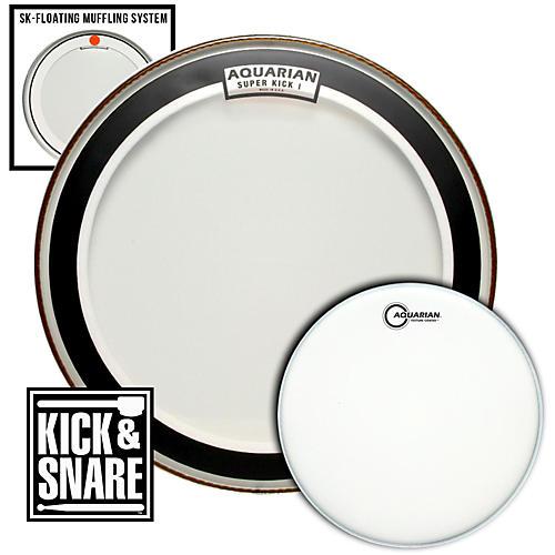 Aquarian Kick & Snare Pack