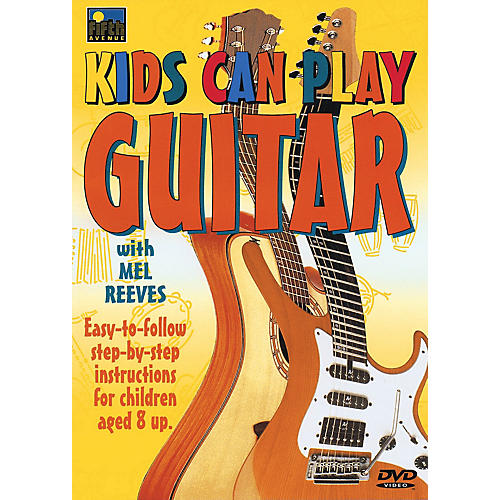 Music Sales Kids Can Play Guitar Music Sales America Series DVD Written by Mel Reeves-thumbnail