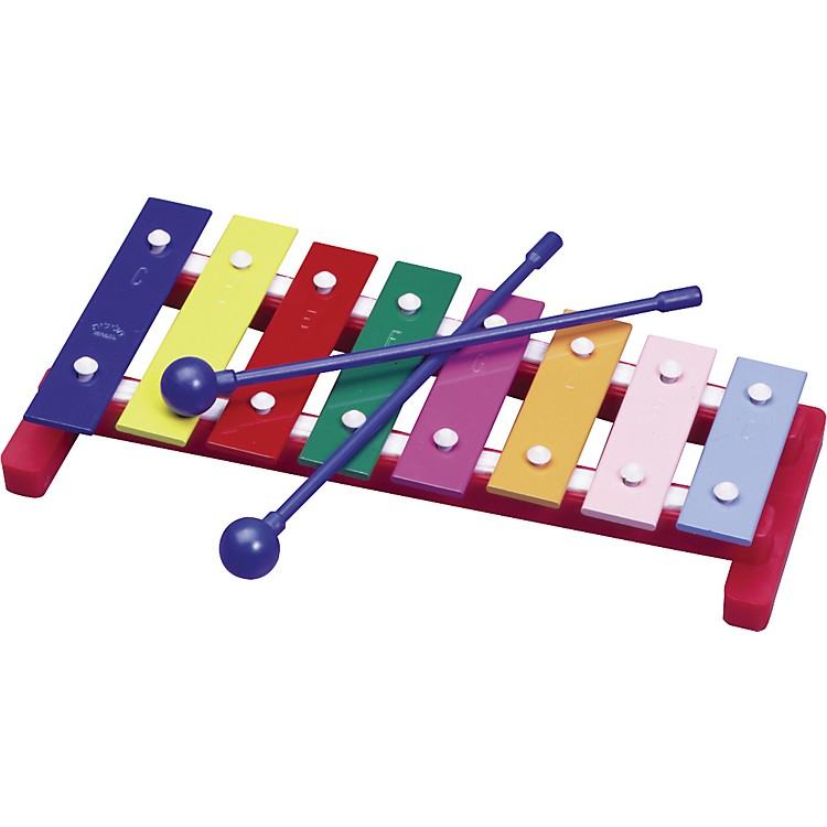 Hohner Kids Colorful Glokenspiel with Mallets One Octave