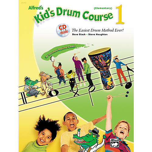 Alfred Kid's Drum Course 1 (Book/CD)