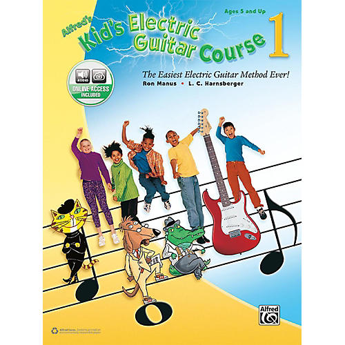 Alfred Kid's Electric Guitar Course 1 (Book/Online Audio)-thumbnail