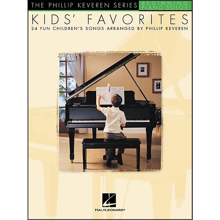 Hal LeonardKids' Favorites - The Phillip Keveren Series Beginning Piano Solos