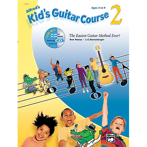 Alfred Kid's Guitar Course 2 (Book/CD/DVD)