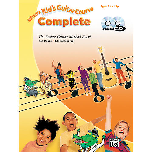 Alfred Kid's Guitar Course Complete Book Enhanced CD & DVD