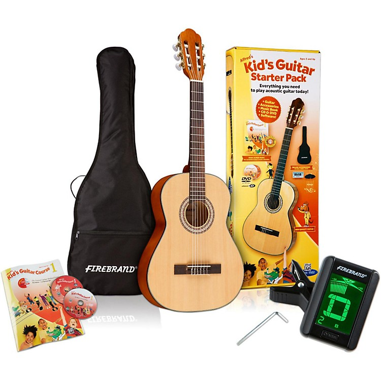 Alfred Kid's Guitar Course Complete Starter Pack Pack