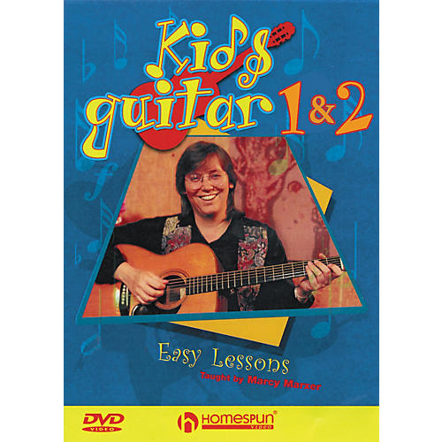 Homespun Kid's Guitar DVD's 1 & 2 Pack-thumbnail