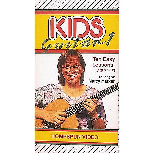 Hal Leonard Kids Guitar Ten Easy Lessons Volume 1