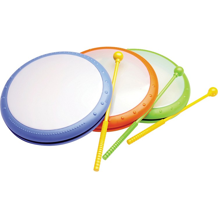 Hohner Kids Hand Drum with Mallet Assorted Colors