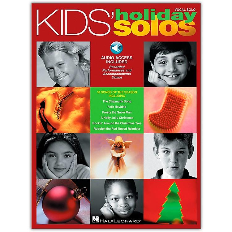 Hal LeonardKids' Holiday Solos Book/CD