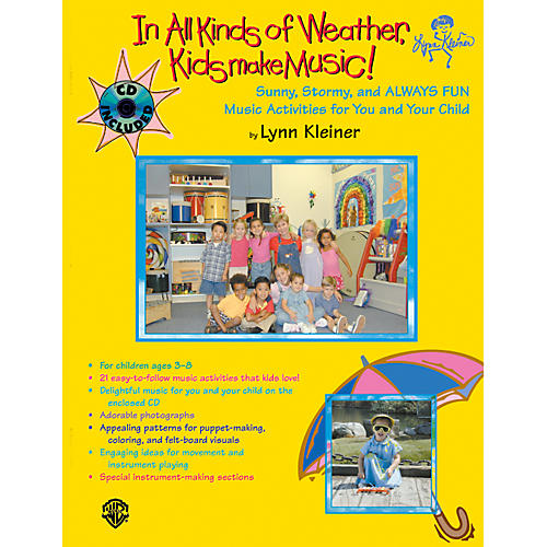 Alfred Kids Make Music Series: In All Kinds of Weather, Kids Make Music Book & CD-thumbnail