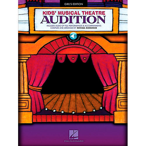 Hal Leonard Kid's Musical Theatre Audition - Girl's Edition Book/CD