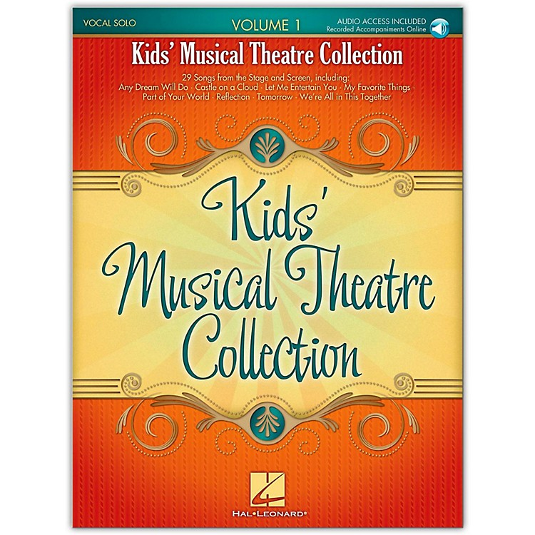 Hal Leonard Kids' Musical Theatre Collection Volume 1 Book/CD