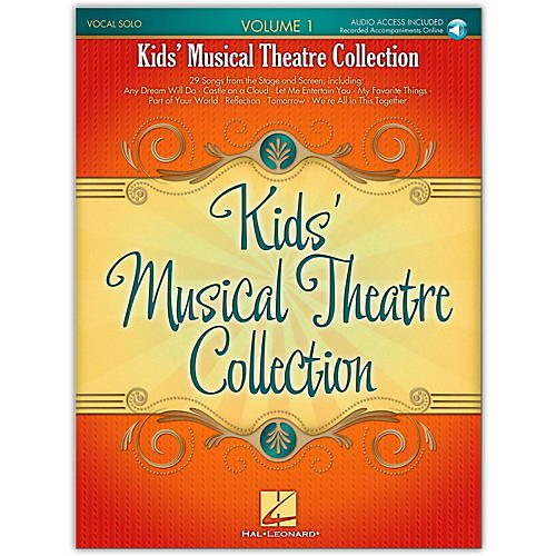 Hal Leonard Kids' Musical Theatre Collection Volume 1 (Book/Online Audio)-thumbnail
