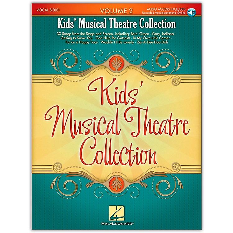 Hal LeonardKids' Musical Theatre Collection Volume 2 Book/CD