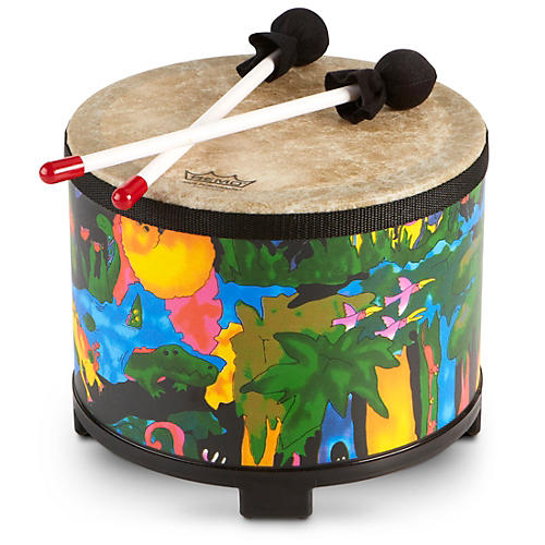 Remo Kid's Percussion Rain Forest Floor Tom-thumbnail