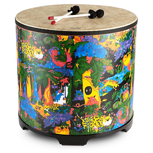 Remo Kid's Percussion Rain Forest Gathering Drum  21 x 22 in.