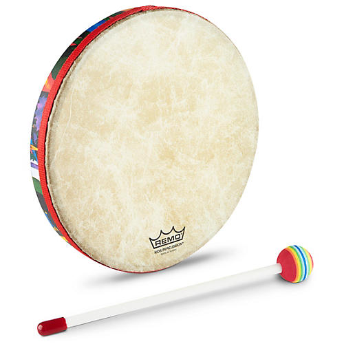 Remo Kid's Percussion Rain Forest Hand Drum  10' x 1'