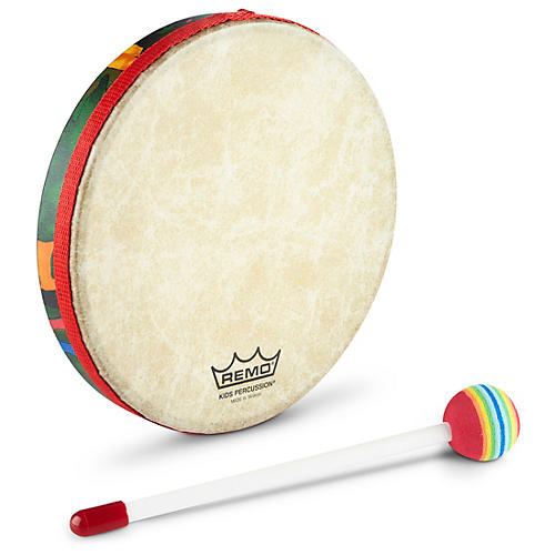 Remo Kid's Percussion Rain Forest Hand Drum  8' x 1'