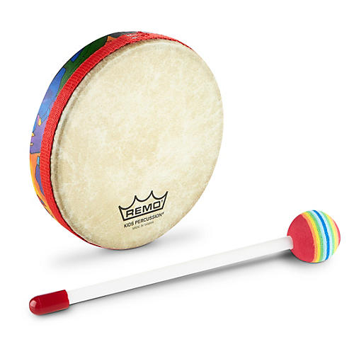 Remo Kid's Percussion Rain Forest Hand Drums  1X6 in.