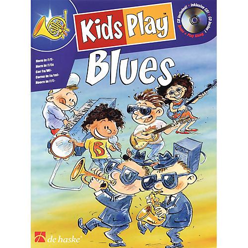 De Haske Music Kids Play Blues (Horn) De Haske Play-Along Book Series Written by Klaas de Jong-thumbnail