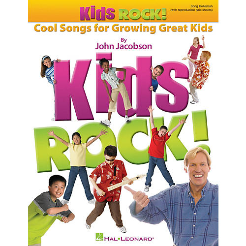 Hal Leonard Kids Rock! - Cool Songs for Growing Great Kids CLASSRM KIT Composed by John Jacobson-thumbnail