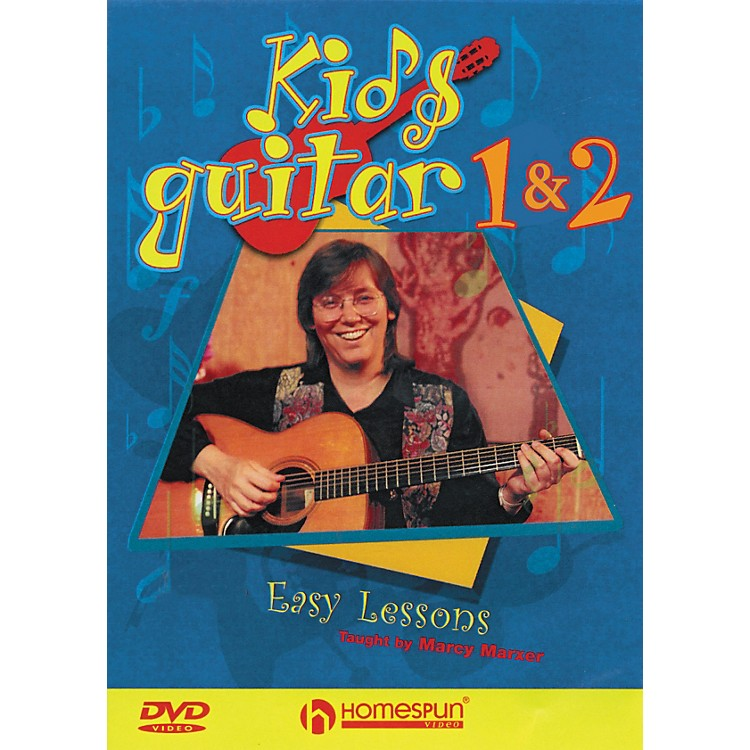 Hal Leonard Kids' Rock Guitar DVD Dvd 1&2