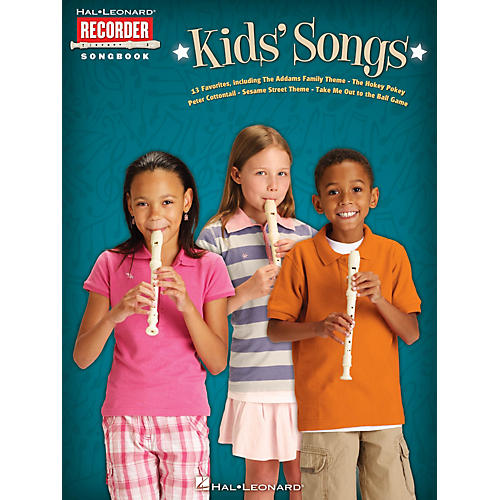 Hal Leonard Kids' Songs Recorder Series Softcover-thumbnail