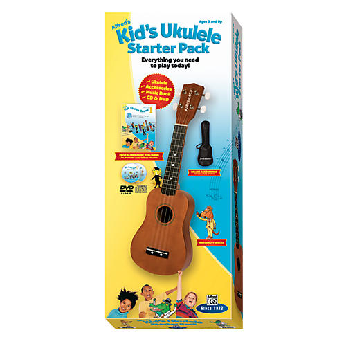 Alfred Kid's Ukulele Course Complete Starter Pack-thumbnail