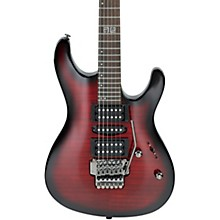 Ibanez Kiko Loureiro Signature KIKOSP2 Electric Guitar Transparent Red Burst