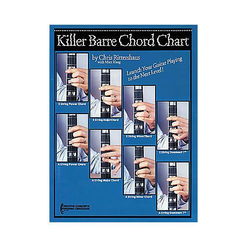 Creative Concepts Killer Barre Chord Chart Book