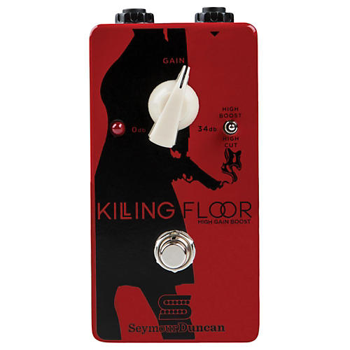 Seymour Duncan Killing Floor High Gain Boost Pedal-thumbnail