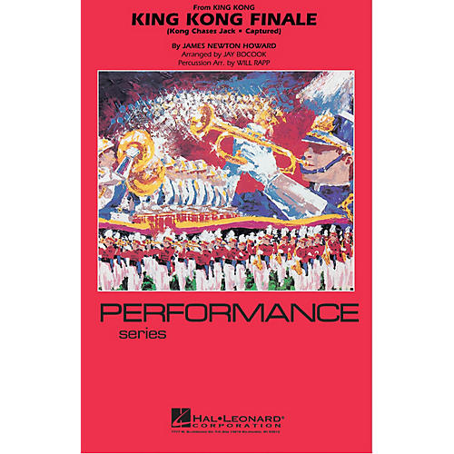 Hal Leonard King Kong Finale Marching Band Level 4 Arranged by Jay Bocook-thumbnail
