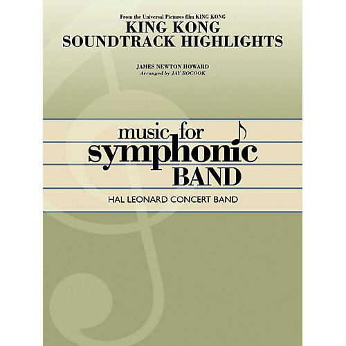 Hal Leonard King Kong Soundtrack Highlights Concert Band Level 4 Arranged by Jay Bocook-thumbnail
