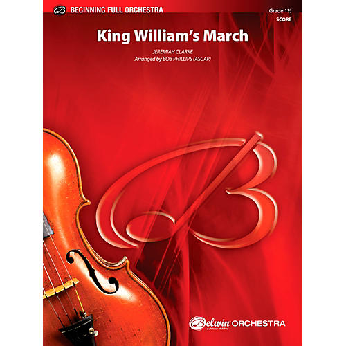 Alfred King William's March Full Orchestra 1.5 Set