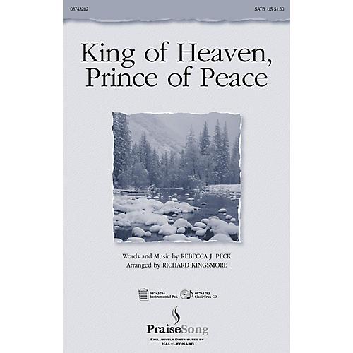 PraiseSong King of Heaven, Prince of Peace (SATB) SATB arranged by Richard Kingsmore-thumbnail