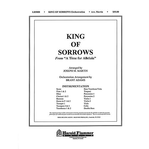 Shawnee Press King of Sorrows (from A Time for Alleluia) Score & Parts composed by Joseph M. Martin-thumbnail