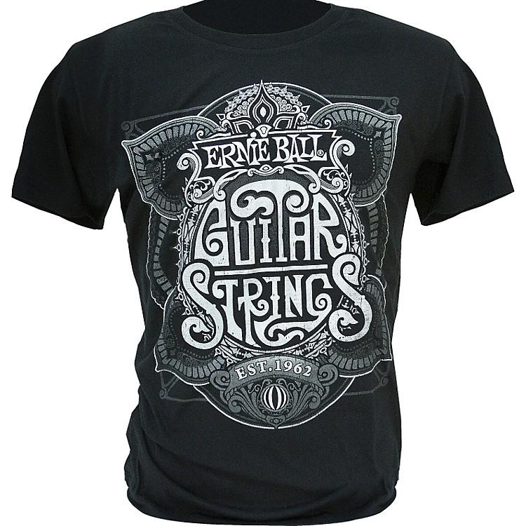 Ernie BallKing of Strings T-ShirtBlackX-Large