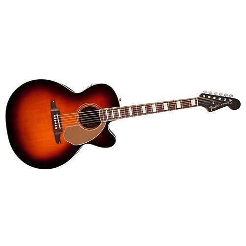 Fender Kingman Jumbo SCE Acoustic-Electric Guitar-thumbnail