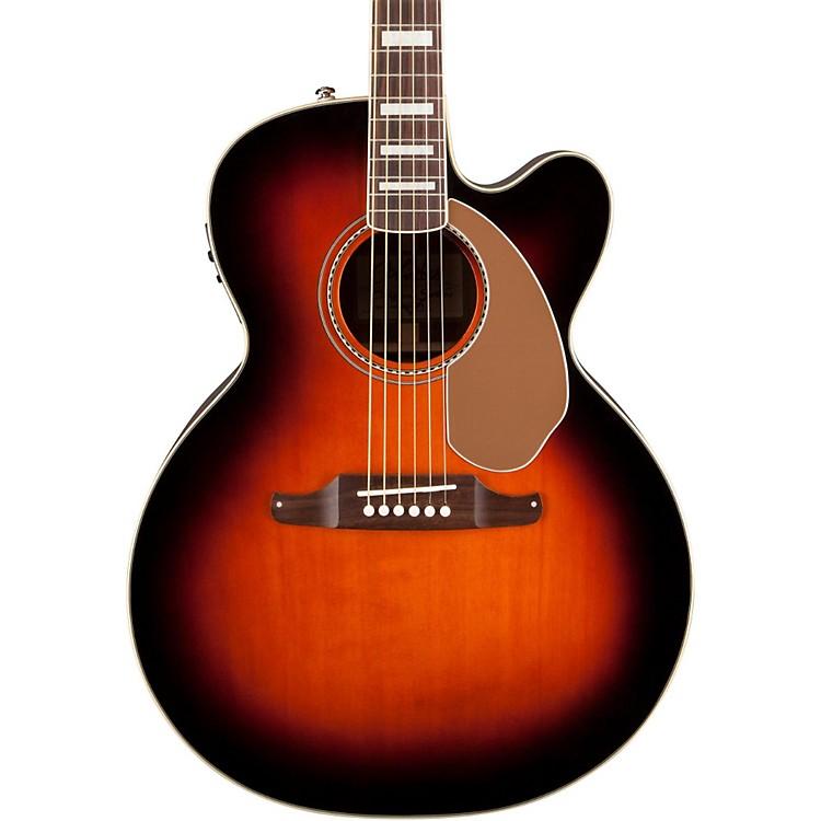 FenderKingman SCE Jumbo Acoustic-Electric Guitar3-Color Sunburst