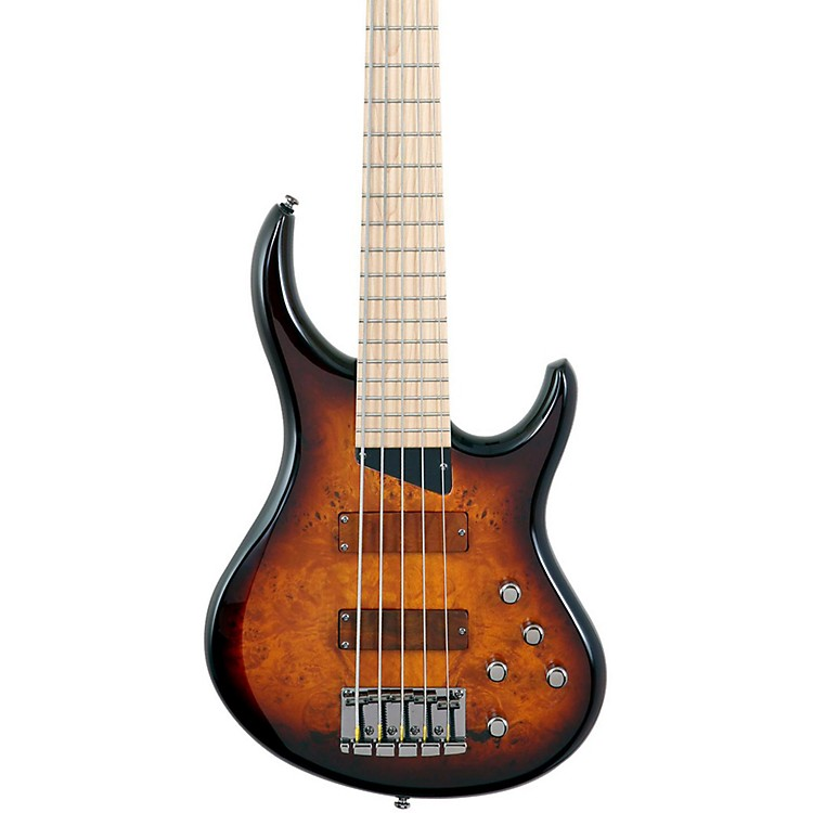 MTD Kingston KZ 5-String Bass Tobacco Sunburst Maple
