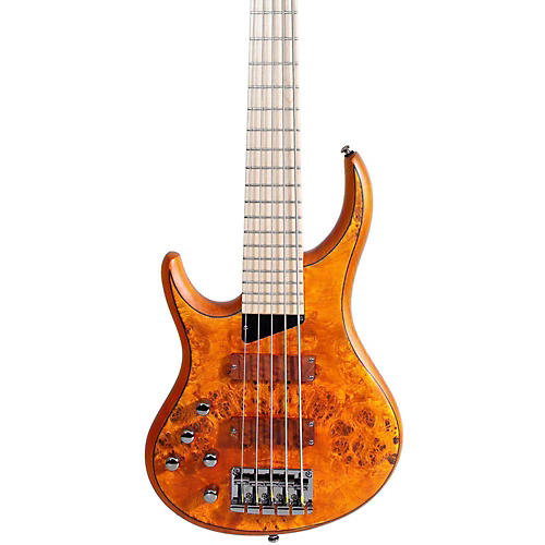 MTD Kingston KZ 5-String Left Handed Bass Burled Maple Maple