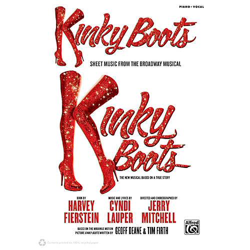 Alfred kinky boots sheet music from the broadway musical for Who wrote kinky boots