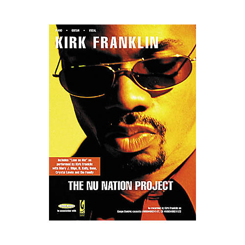 Word Music Kirk Franklin - The Nu Nation Project Book