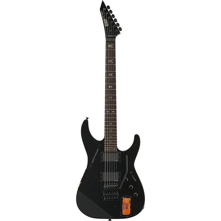 ESPKirk Hammett Signature KH-2 Vintage Electric GuitarDistressed Black